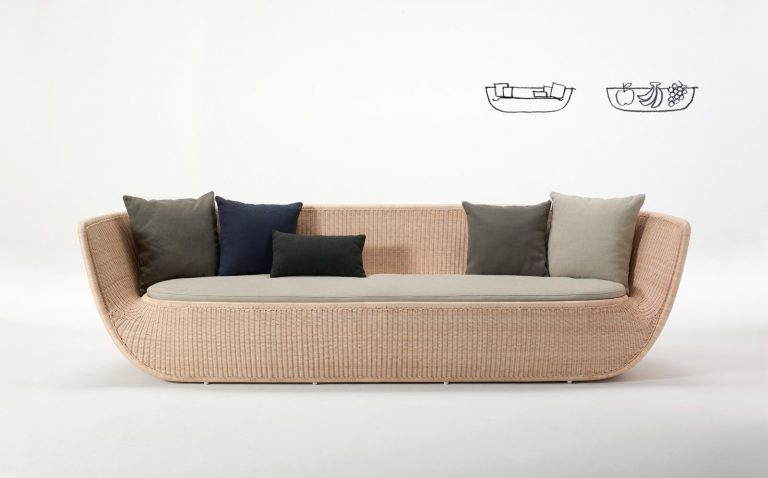 Fruit Bowl sofa by Omi Tahara for Yamakawa