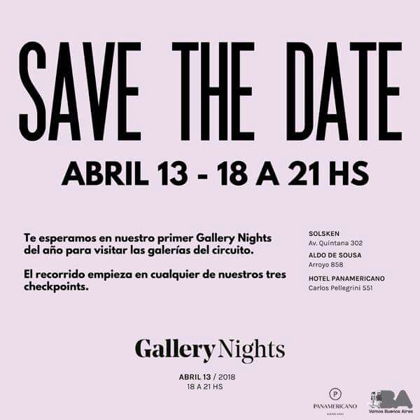 Invitación Gallery Nights