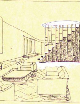 luigi rosselli architects   the books house   luigi rosselli sketch   008