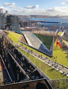 Seattle Art Museum: Olympic Sculpture Park.