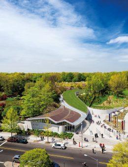 Centro de Visitantes del Jardín Botánico de Brooklyn,