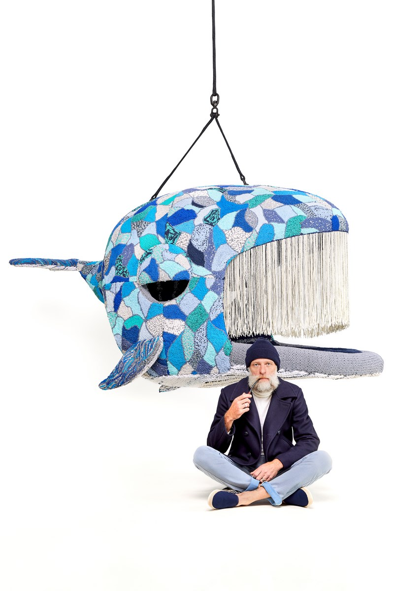 Porky Hefer_Endangered_Blue whale and Porky_Courtesy Southern Guild and SFA Advisory_Photo Antonia Steyn (Copy)
