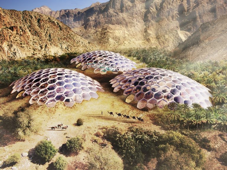 The Biodomes_Wildlife Conservation Centre_Aerial 1_Baharash Architecture (Copy)