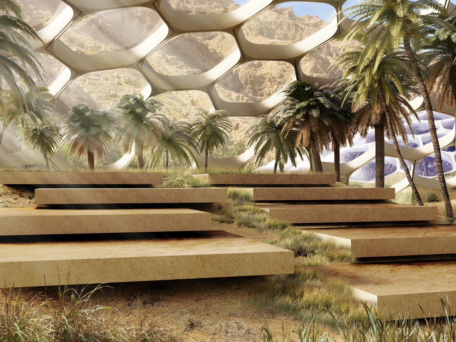 The Biodomes_Wildlife Conservation Centre_Amphitheatre_Baharash Architecture (Copy)