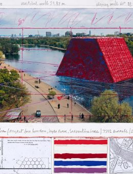 The London Mastaba - The Mastaba (Project for London, Hyde Park, Serpentine Lake) (3) (Copiar)