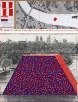 The London Mastaba - The Mastaba (Project for London, Hyde Park, Serpentine Lake) (Copiar)