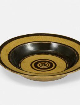 Otto Lindig, plato, Taller de cerámica de Dornburg, 1922/23.  Foto: A. Körner (bildhübsche Fotografie) / Gentileza ifa
