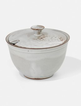 Otto Lindig, azucarera, Taller de cerámica de Dornburg, 1930.  Foto: A. Körner (bildhübsche Fotografie) / Gentileza ifa