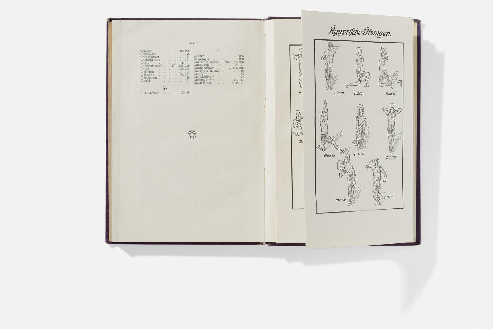 O. Z. Hanish & David Ammann, Masdasnan – Lecciones de respiración, 1919 Foto: A. Körner (bildhübsche Fotografie) / Gentileza ifa