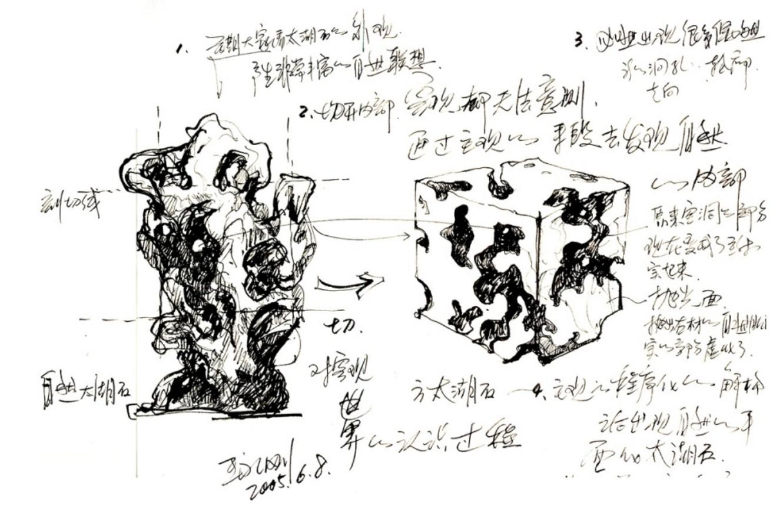 05_Taihu_Stone_Cutting_Artwork_Series_2005
