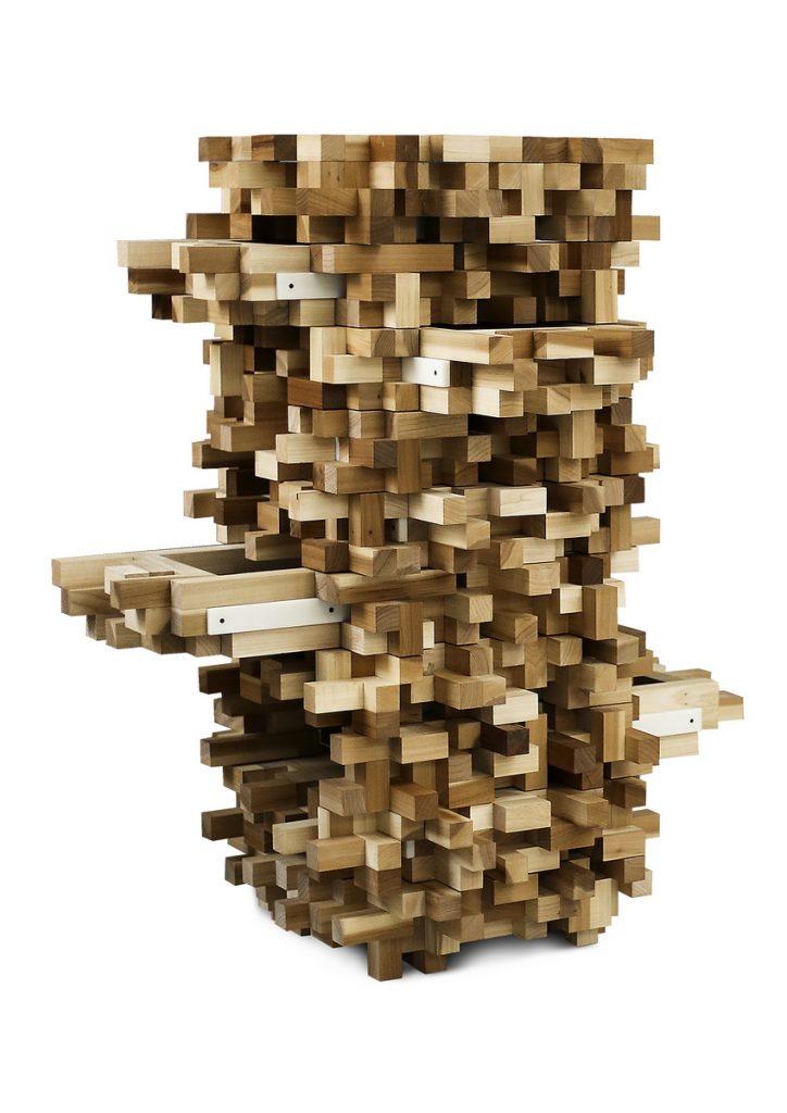 Diffuser Cabinet, uan cajonera de Dirk Van der Kooij