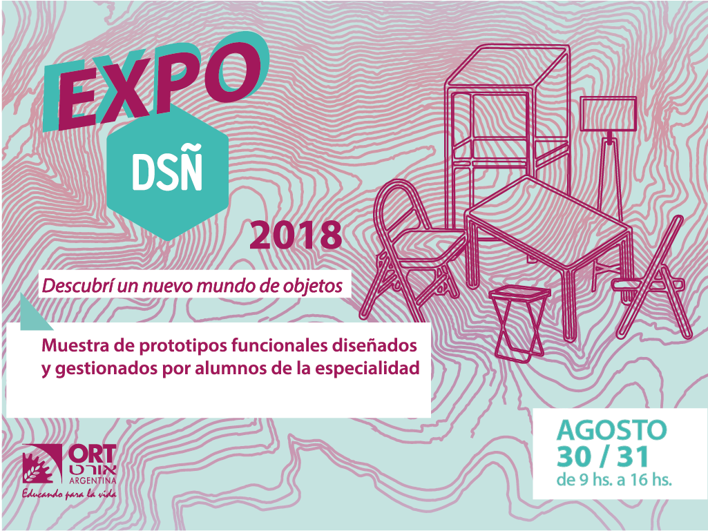 Expo diseno flyer 2018