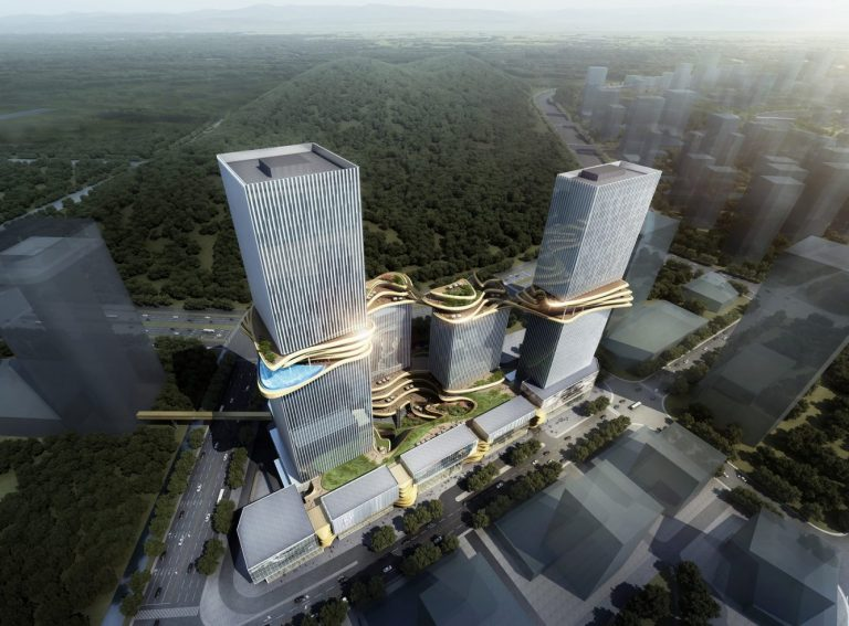 Hengqin CRCC Plaza, Zhuhai, China, by Aedas_2 (Copiar)