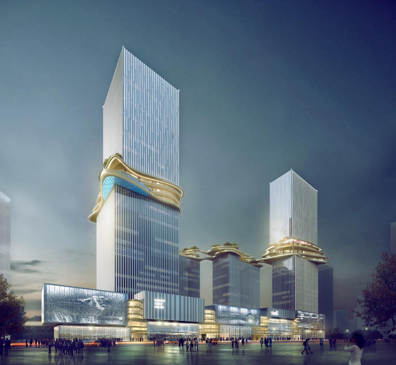 Hengqin CRCC Plaza, Zhuhai, China, by Aedas_3 (Copiar)