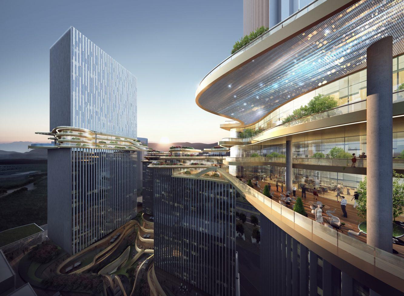 Hengqin CRCC Plaza, Zhuhai, China, by Aedas_6 (Copiar)