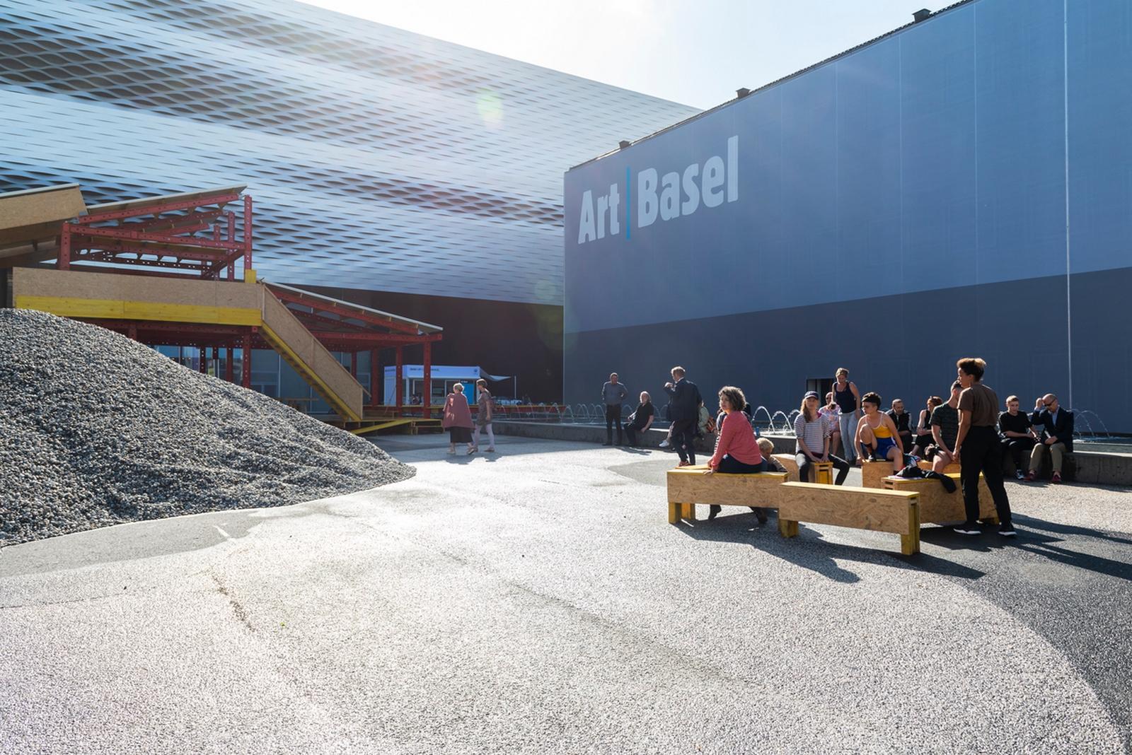 Art Basel en Basilea 2018  © Art Basel y Creative Time