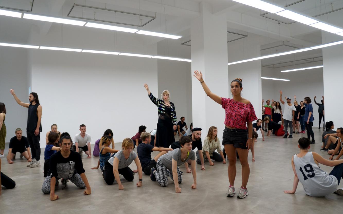 Alexandra Pirici - Art Basel Cities Week Buenos Aires