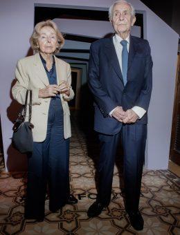 Dr. Enrique Segundo Malbran y Nani Malbran en el pre opening de Casa FOA 2018 (Copiar)