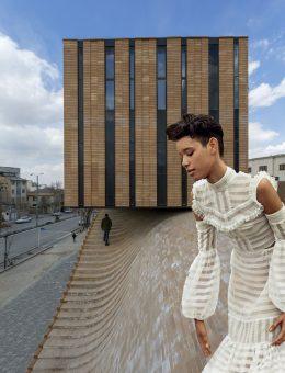 Los pliegues hasta ahora se consideraban elementos de prendas de vestir. Sin embargo, plisar en la arquitectura crea formas no convencionales como la estación de tren Reggio Emilia en Italia diseñada por el famoso arquitecto Santiago Calatrava.