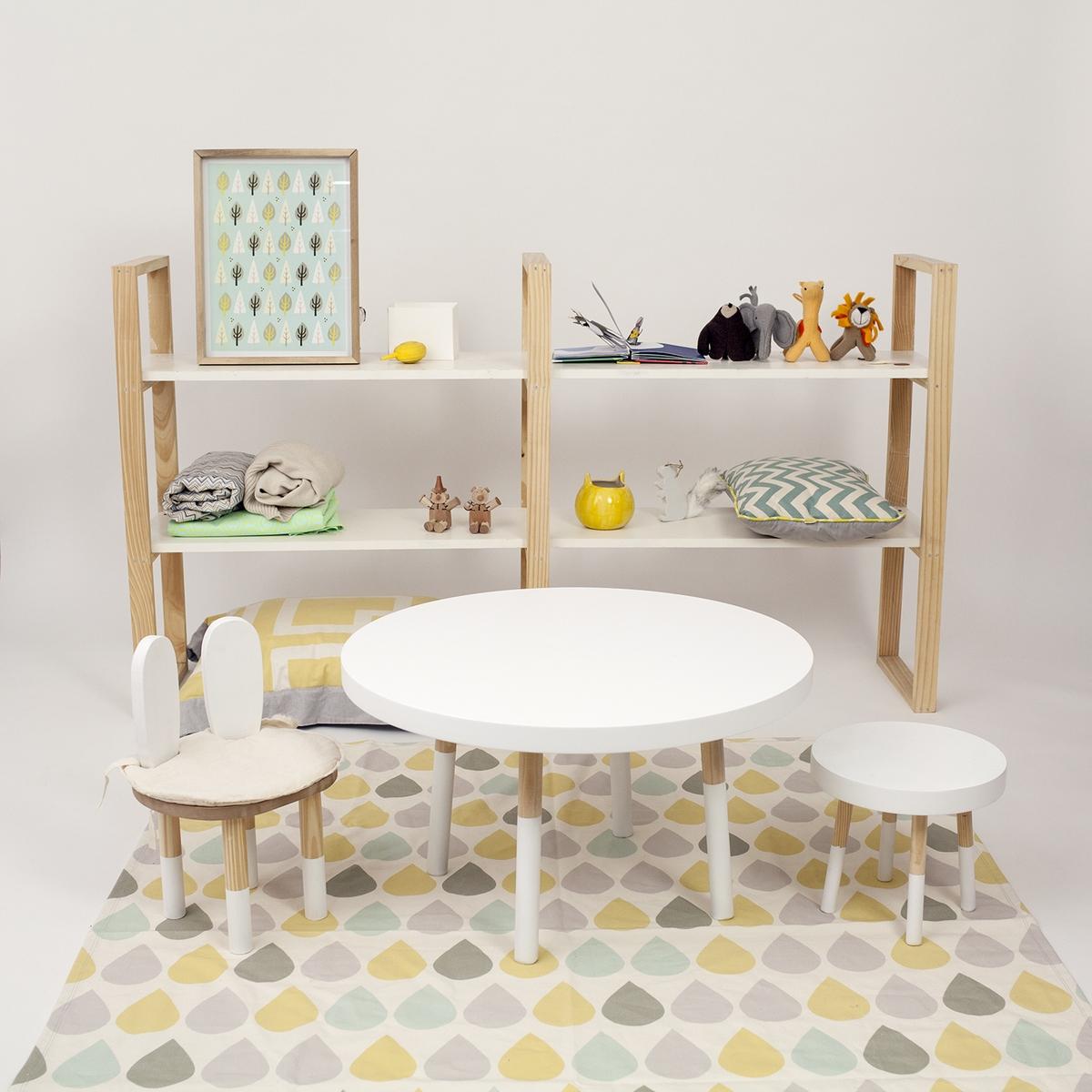Biblioteca, sillas, mesa y alfombra (Copiar)