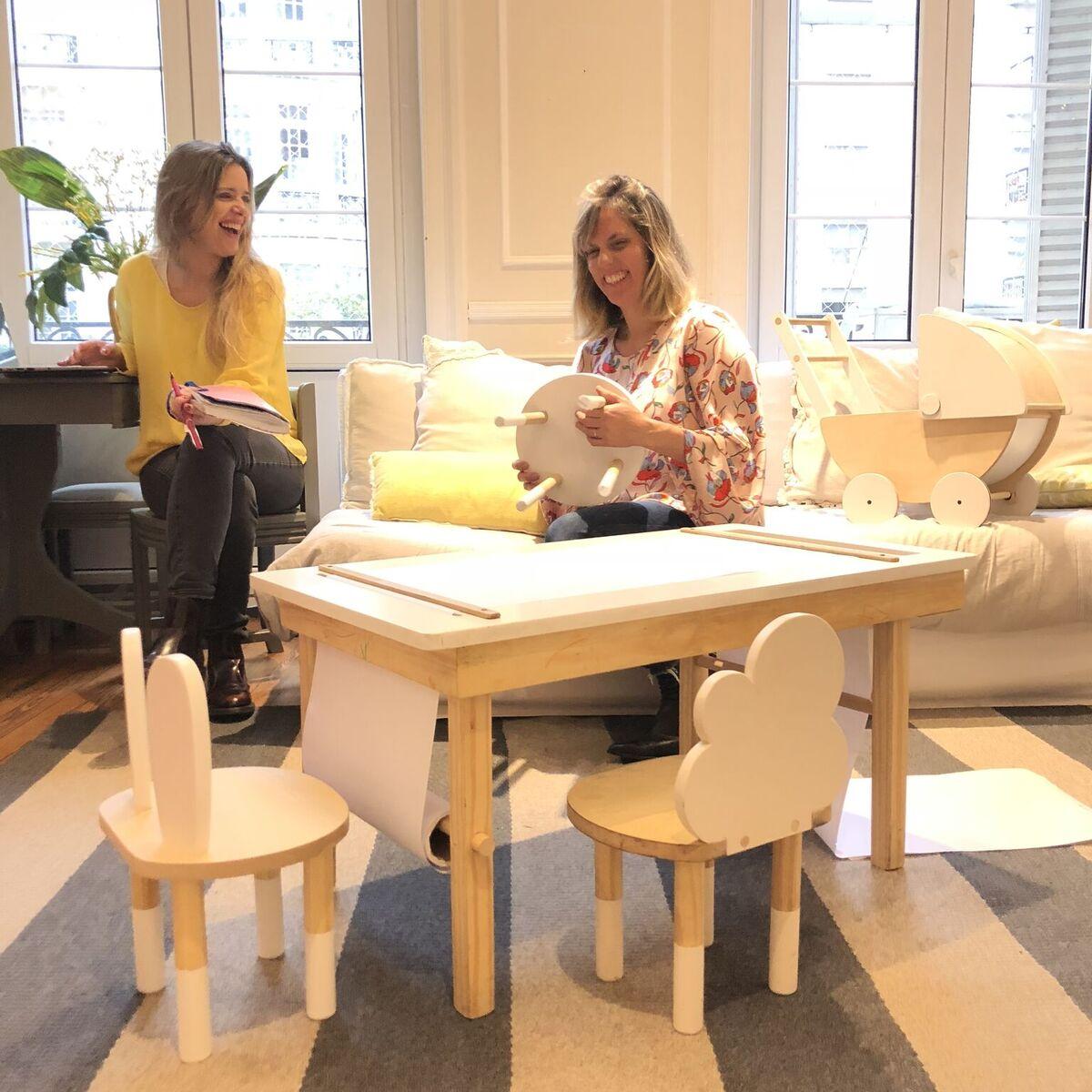 Foto socias Florencia Dadone y Macarena Speroni