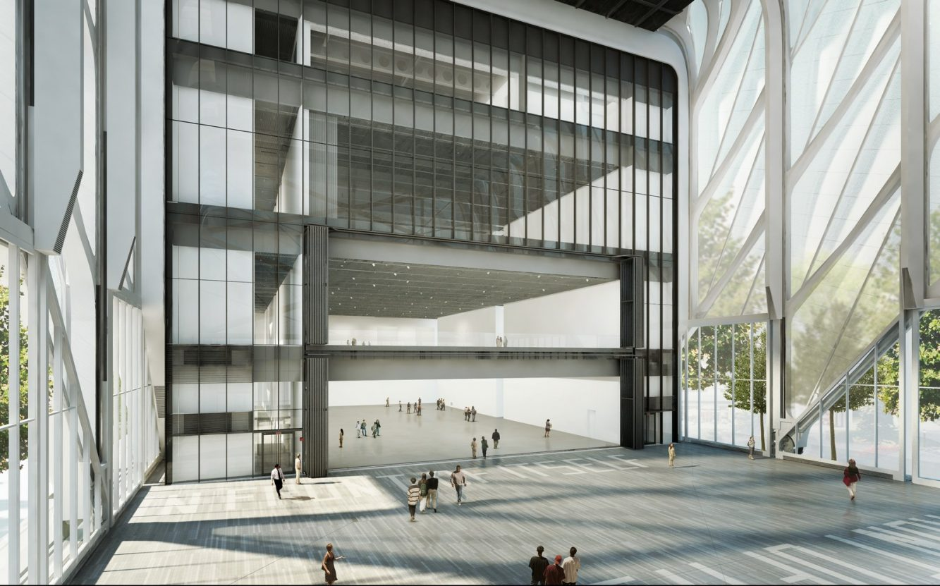 Rendering of The McCourt courtesy Diller Scofidio + Renfro in collaboration with Rockwell Group