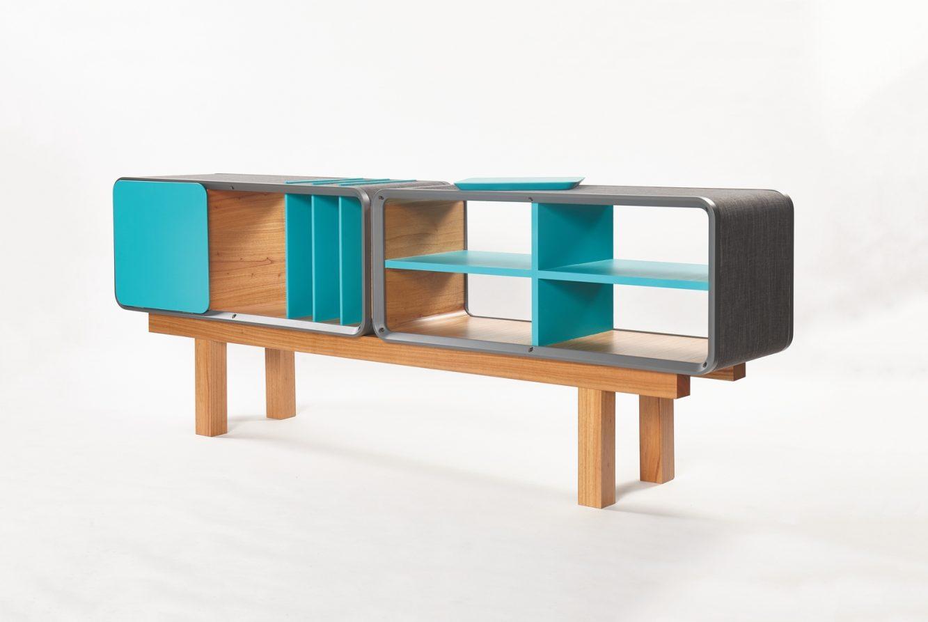 Sistema combi, Genoud Muebles + Ustatic Diseño: