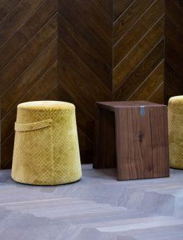 DOMOTEX - Weltleitmesse für Teppiche und Bodenbeläge.  Parkett, Holz- und Laminatfußböden, Foglie d'Oro I - Cusinati di Rosa, Halle 13, Stand C86