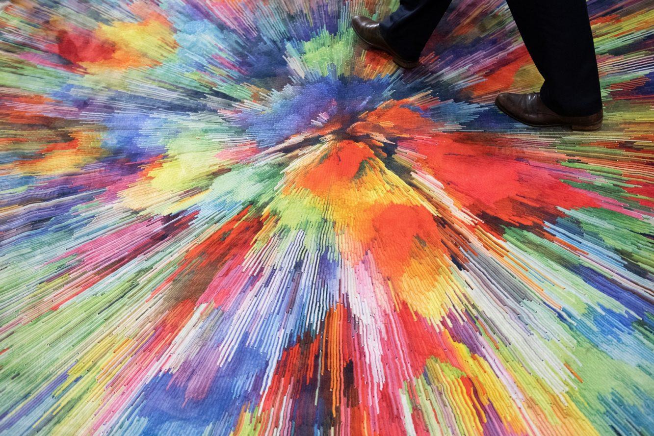 DOMOTEX - Weltleitmesse für Teppiche und Bodenbeläge. Zimmer Austria - ist ein Gemeinschaftsstand