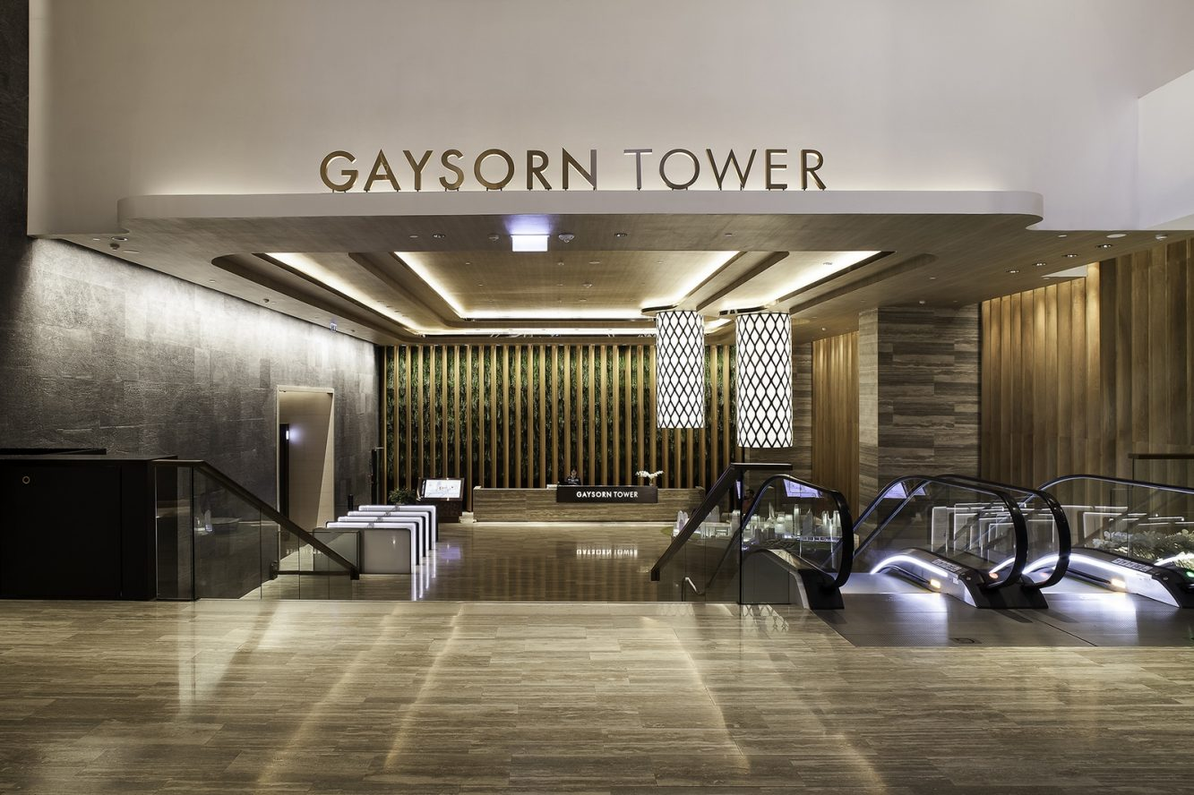 12_Gaysorn Tower lobby  © Nirut Benjabanpot, CL3 Architect Limited (Copiar)