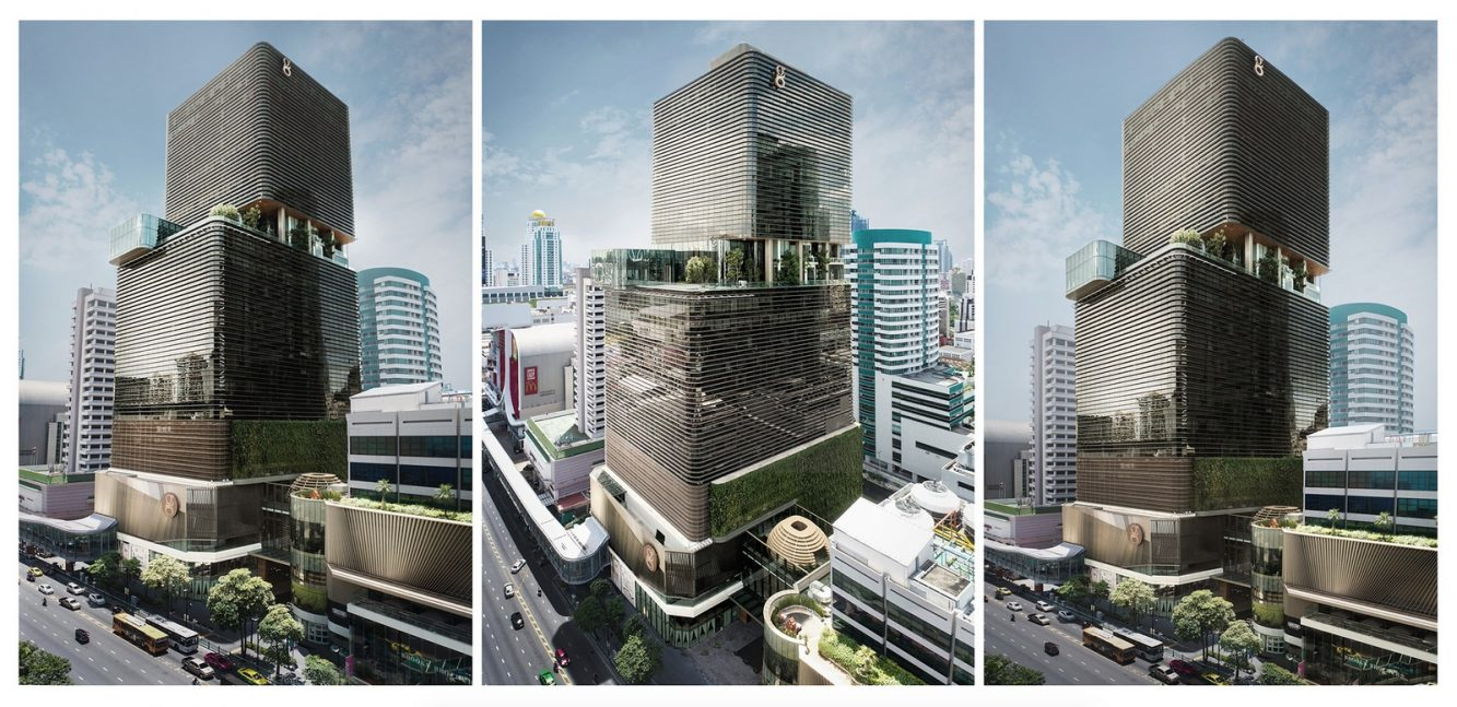 1_Gaysorn Tower Exterior View  © Gaysorn Property Co., Ltd. (Copiar)