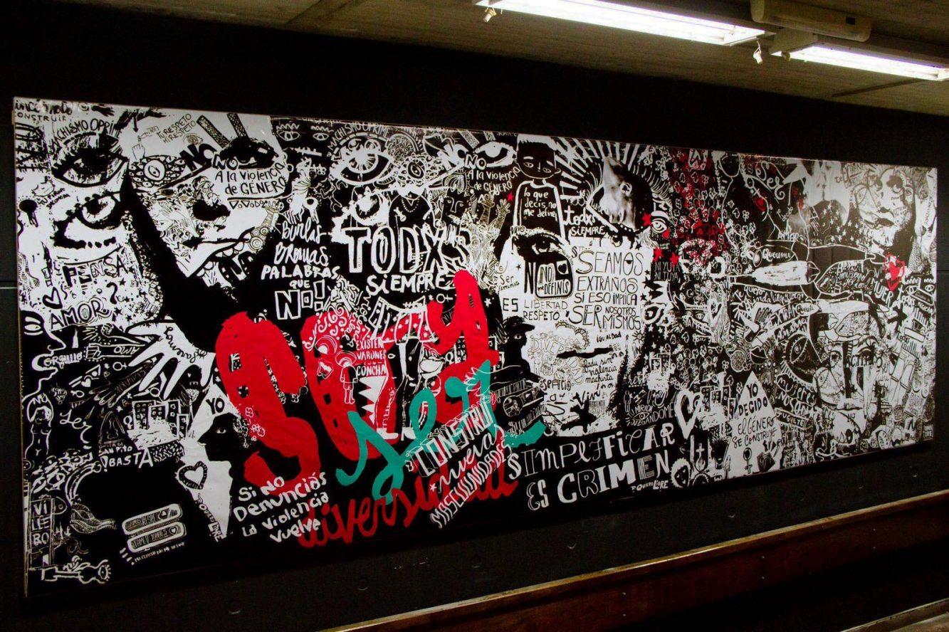 Mural Diversidad de Género,  FADU UBA