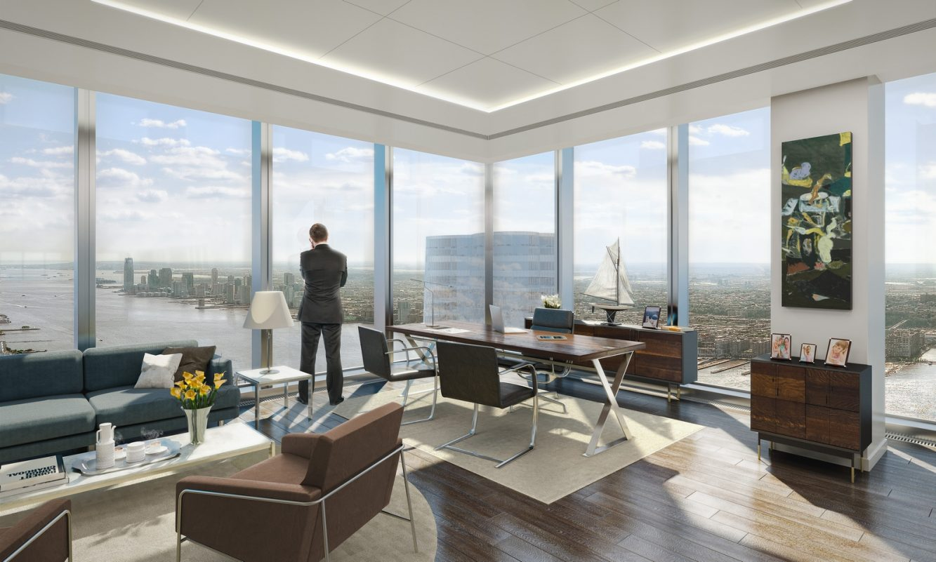 30 Hudson Yards Southwest Office Views - courtesy of Related-Oxford (Copiar)
