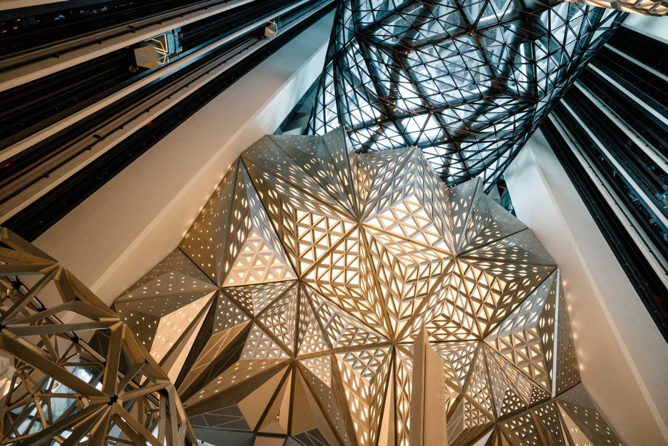 Morpheus Hotel Atrium