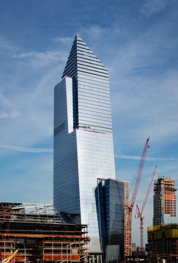 Photo - 10 Hudson Yards and Retail Looking Southeast - courtesy of Steve Freihon for Related-Oxford (Copiar)