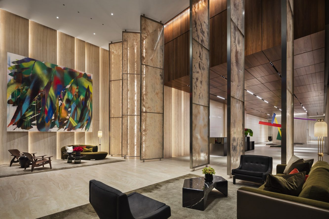 Photo - 15 Hudson Yards Lobby - courtesy of Scott Frances for Related-Oxford (Copiar)