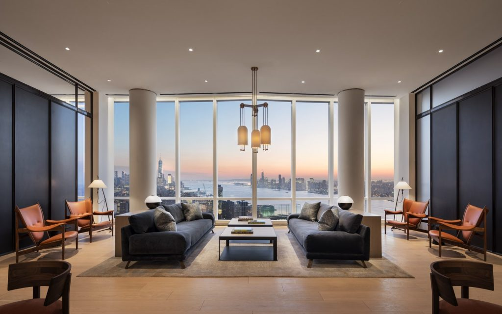 Photo - 15 Hudson Yards Lounge - courtesy of Scott Frances for Related-Oxford (Copiar)