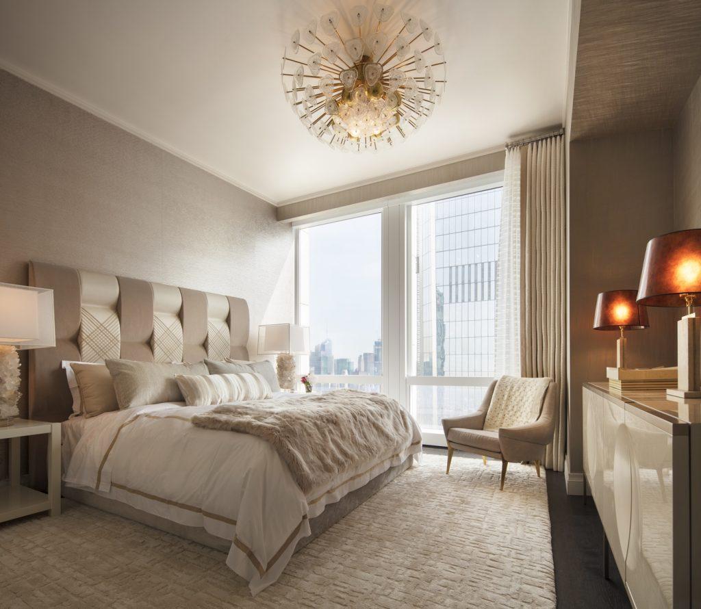 Photo - 35 Hudson Yards - 3-Bedroom Model Secondary Bedroom - courtesy of Scott Frances for Related-Oxford (Copiar)