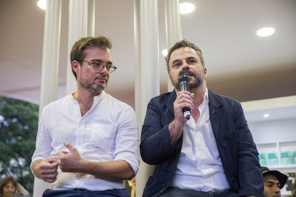 Enrique Avogadro, Ministro de Cultura de GCBA_ y Diego Radivoy, Director General de Desarrollo Cultural y Creativo (Copiar)