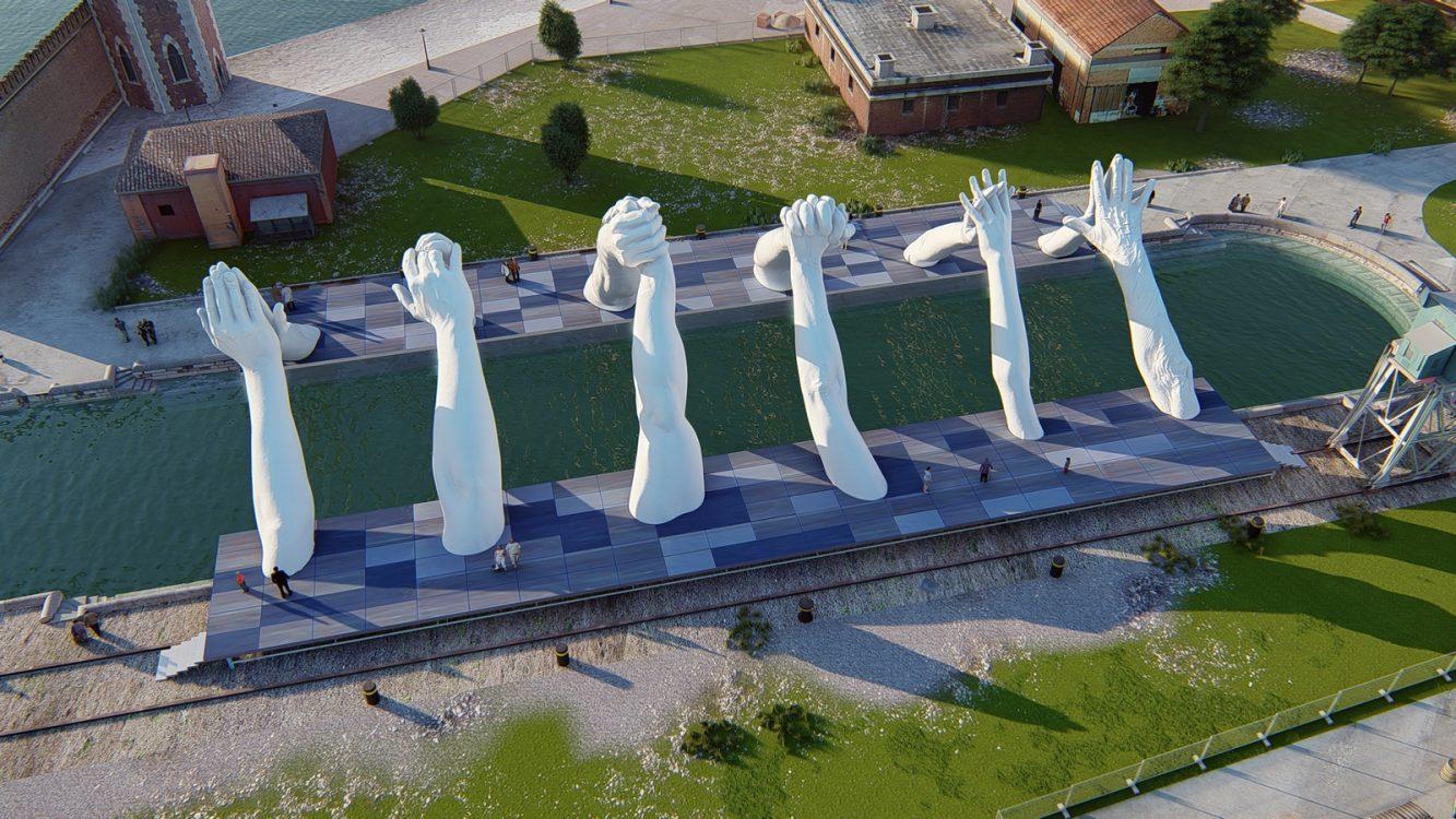 Building Bridges 3 Image Credit. Halcyon Art International (Copiar)