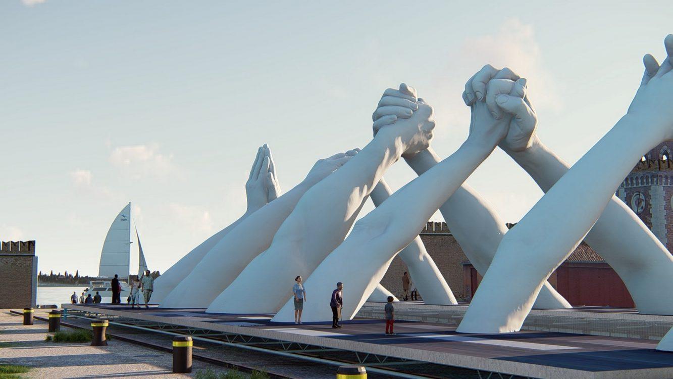Building Bridges 5 Image Credit. Halcyon Art International (Copiar)