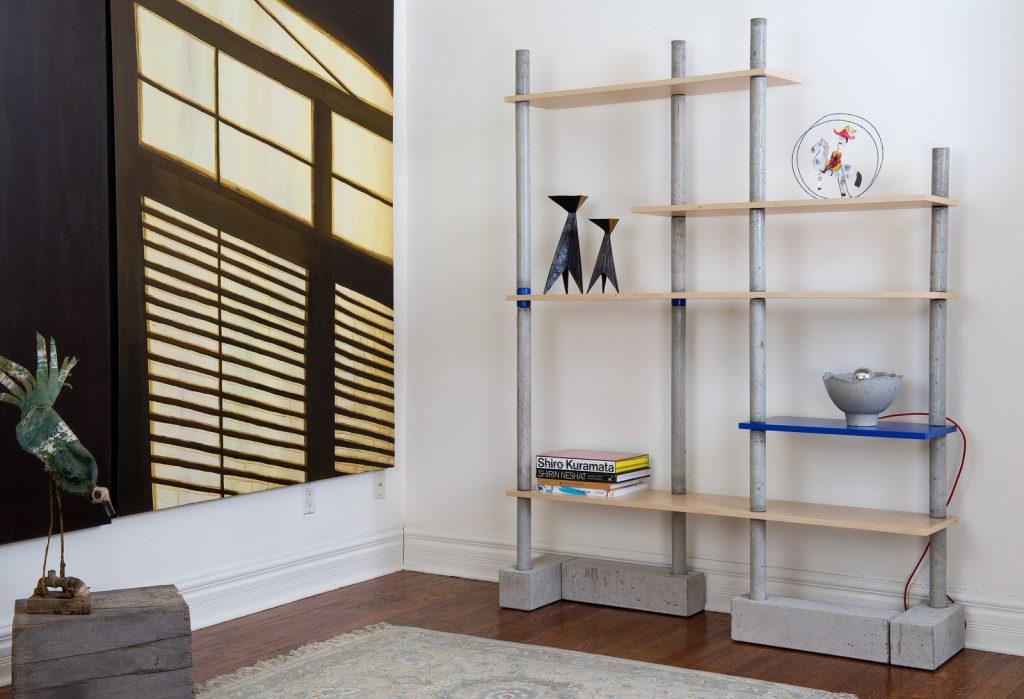 LALAYA Design_BIM BOM bookshelf - with decor_photography by Kevin Jones - Hanae Baruchel-2 (Copiar)