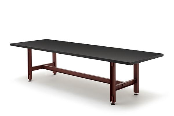BEAM-TABLE L720-D1000 6835 Konstantin-Grcic ©2019 EstablishedandSons ©PeterGuenzel White-Background-01 72dpi