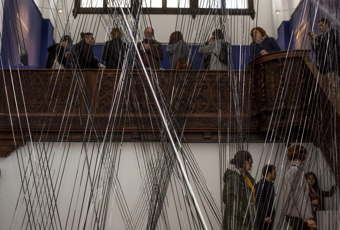 Aquí y ahora Ici et maintenant (activación) - María Maggiori y Julia Suero - MIFB - Museo de Arte Hispanoamericano Isaac Fernández Blanco- Crédito BIENALSUR(4) (Copiar)