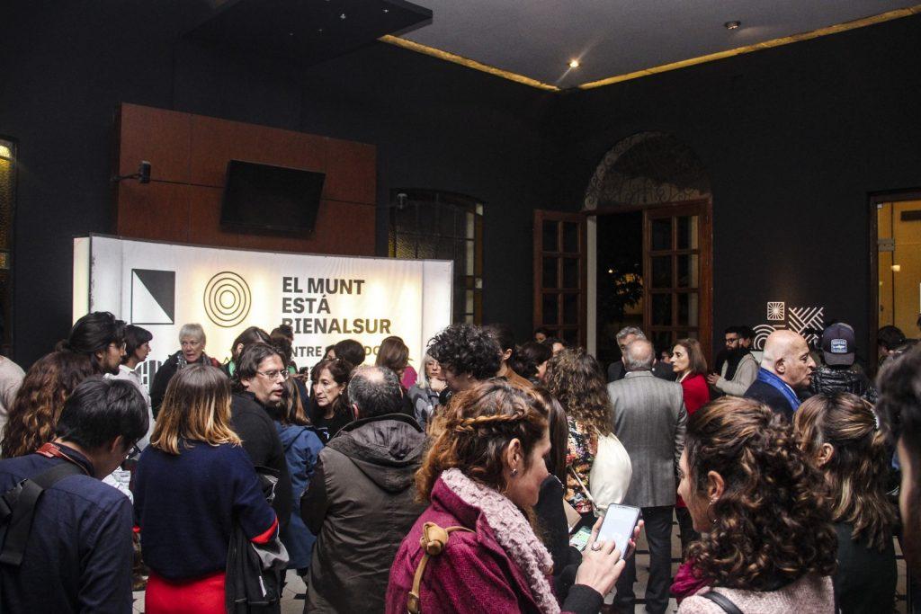 Inauguración en el MUNT - Tucumán. Crédito BIENALSUR (Copiar)