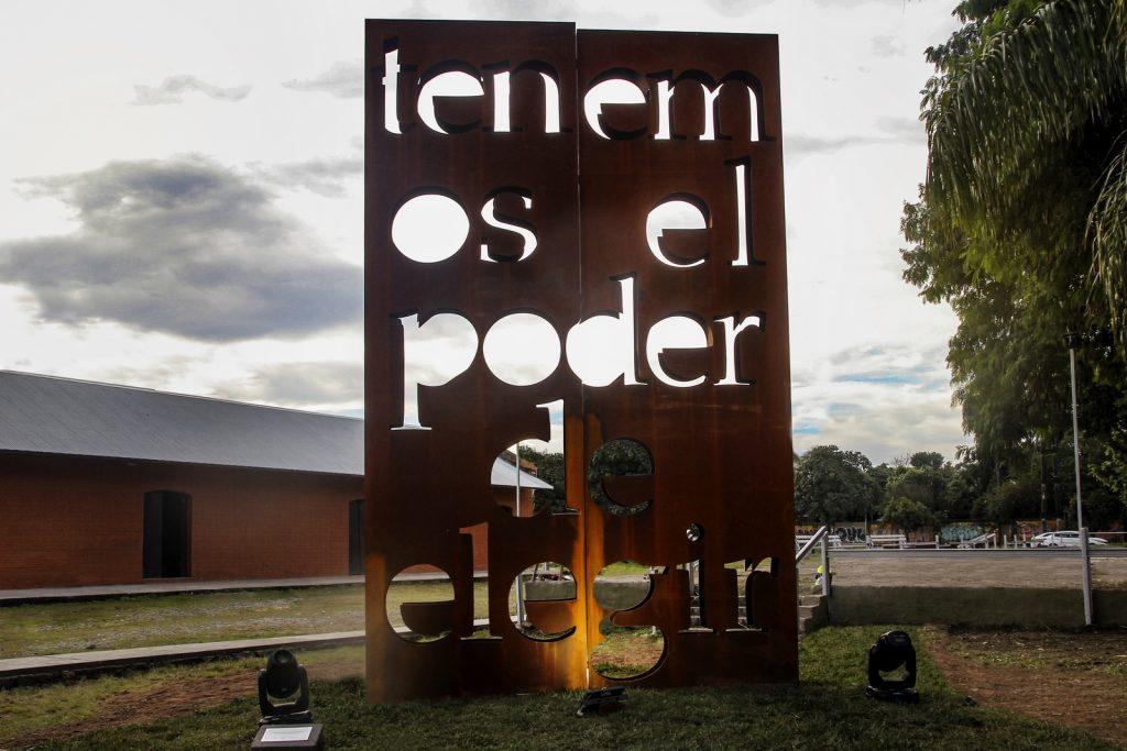 Marie Orensanz - Tenemos el poder de elegir - Centro Cultural Juan B. Terán - Tucumán. Crédito BIENALSUR (2) (Copiar)