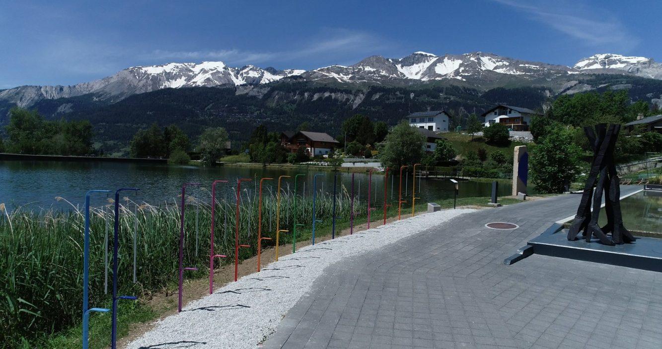 Parcours Culturel BIENALSUR - Crans Montana - Suiza. Crédito BIENALSUR (Copiar)
