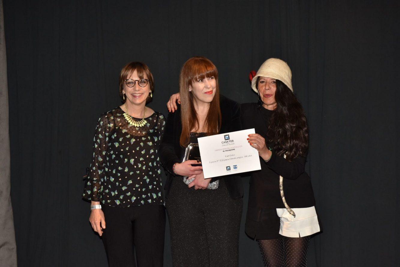 Ana Bajcura, Cari Calvo y Cristina Le Mehaute
