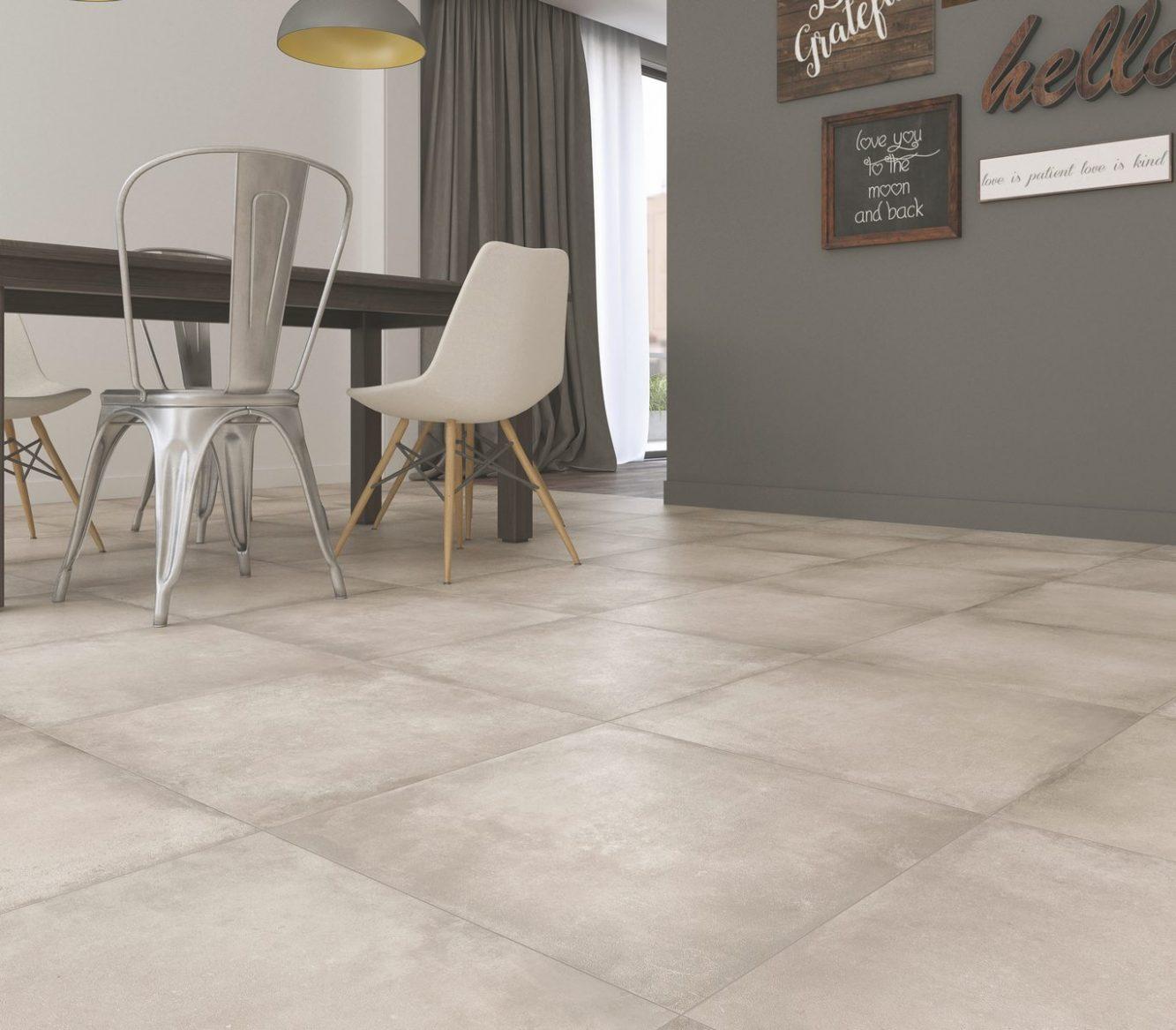 Cerámica San Lorenzo Porcelanato Terraferma Cemento