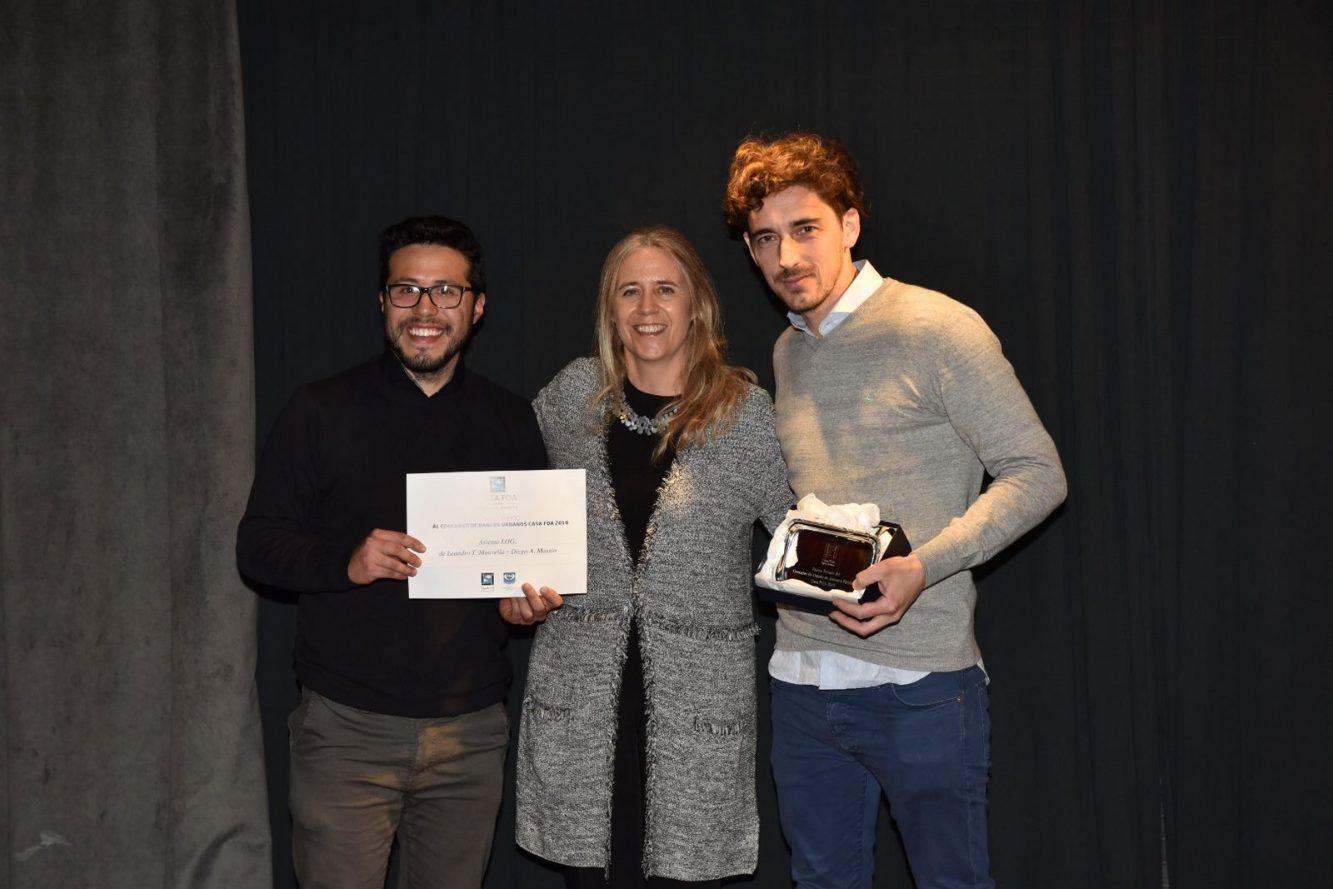 Carolina Day, y los ganadores del Asiento LOG, de Leandro T. Manavella y Diego A. Massio